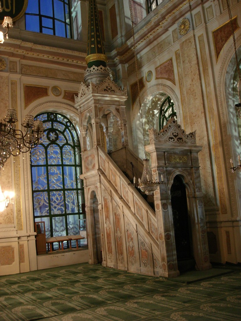 Minbar of Ortakoy Mosque