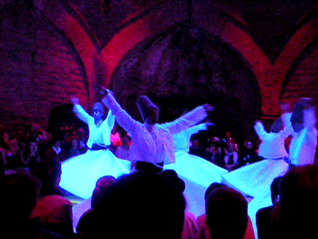 Whirling Dervishes in Hodjapasha Cultural Center