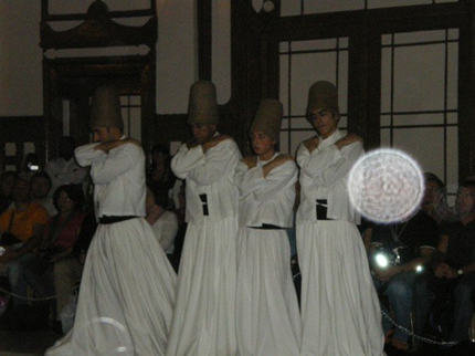 Whirling Dervishes in Sirkeci Train Station