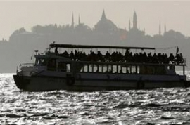Transportation in Istanbul: Besiktas - Uskudar Boat