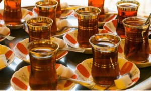Turkish Tea Gardens in Istanbul
